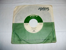 "Fatback - I'm So In Love 1981 7"" 45 RPM PROMO R&B EX Vinyl Spring SP 3023 DJ"