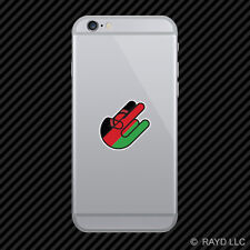 Malawian Shocker Cell Phone Sticker Mobile Malawi MWI MW