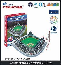 MajorLeagueBaseball MLB Chicago Cubs Home WrigleyField Stadium 3D Puzzle Model