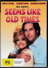 SEEMS LIKE OLD TIMES - Goldie Hawn, Chevy Chase, Charles Grodin  - DVD  - NEW -