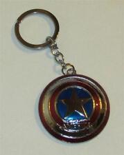 Marvel Comics CAPTAIN AMERICA Shield The Avengers KEY CHAIN Ring Keychain NEW