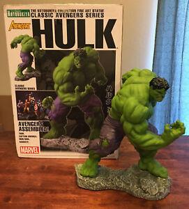 Kotobukiya Hulk Fine Art Statue Classic Avengers 1530/4000 Marvel Eric Sosa Used