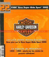 HARLEY DAVIDSON FXDX 1450 Dyna Super Glide Sport 2000 ; HD Les Années 50-60 MOTO