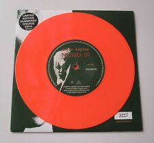 "ROGER TAYLOR : Pressure On - Orange Coloured Numbered 7"" UK Vinyl Single Queen"