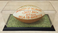 VERY RARE BILLY SIMS/TEAM AUTOGRAPHED 1978 OKLAHOMA SOONERS DAD'S DAY FOOTBALL