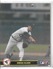 Sealed 1990 Major League Baseball Gregg Olson Action Photos Series 1