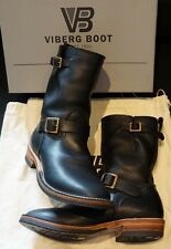 "VIBERG IRON HEART 9"" ENGINEER BOOTS IHVB-05 THE WILD ONES 9 1/2 VIBRAM CAT'S PAW"