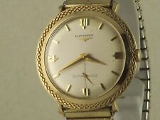 Vintage Longines 14K Gold Fancy Bezel