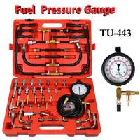 140PSI TU-443 Multi Function Fuel Injection Pressure Gauge Diagnostic Tester Kit