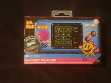 Ms. Pac-man Handheld Pocket Player Portable 2 Additional Games Brand New