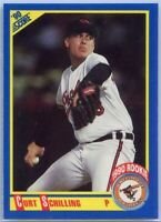 1990 Score Baseball Curt Schilling Rookie Card #581 Baltimore Orioles