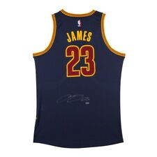 LEBRON JAMES UDA Signed Cleveland Cavs Alternate Blue Adidas Jersey New In Box