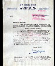 """SAINT-CLOUD (92) USINE de POMPES """"GUINARD"""" en 1963"""