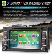 "AUTORADIO Android 7.1 7"" quad core Vw Touareg multivan navigatore Comandi vol"