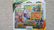 Pangoro XY6 Pokemon Blister Pack 3 Roaring Skies Boosters + Promo and Coin