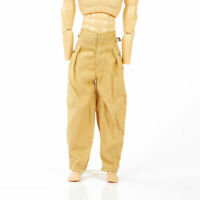 3PCS 1/6 WWII German  Soldier Male Pants Model Trousers Toy F Action Figure Gift