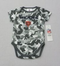 NFL Chicago Bears Infant Gray Lapstyle Camo Bodysuit 18 Months