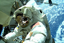 NEW 8x12 Stunning Photo Astronauts Perform third Spacewalk in Eight Days - ISS