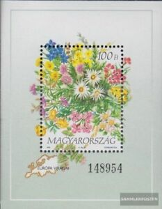 Hungary block230 (complete.issue.) unmounted mint / never hinged 1994 Flowers