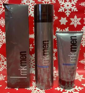 MK Men Skin Care Set of 3 Pieces (Facial Wash, Shave Foam and After Shave Gel)