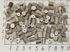 100 #1 Drilled Deer Antler Beads Jewelry Necklaces Crafts