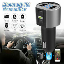 Bluetooth Car FM Transmitter MP3 Player Hand free Radio Adapter Kit USB Charger