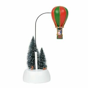 New Department 56 Snow Village Holiday Balloon Ride Animated Figurine 6001685