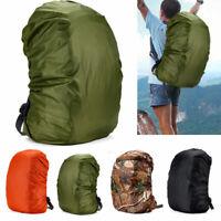 Waterproof Dust Rain Cover Backpack Travel Hiking Camping Rucksack Outdoor Bags