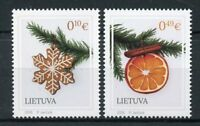 Lithuania 2018 MNH Holy Christmas & New Year Decorations 2v Set Stamps