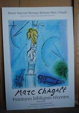 Chagall Origina Poster Peintures Bibliques Recentes1977