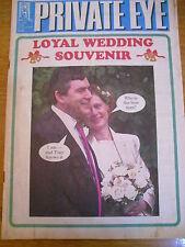 PRIVATE EYE MAGAZINE NUMBER 1008 AUG 2000 GORDON BROWN LOYAL WEDDING SOUVENIR