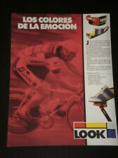 ADVERT PRINT AD PUBLICITE PUBLICIDAD ANUNCIO LOOK CYCLING PARTS ACCESSORIES 3096
