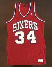 05618b955 Rare Vintage Sand Knit NBA Philadelphia 76ers Charles Barkley Basketball  Jersey
