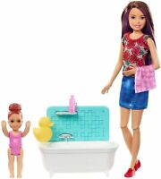 Barbie Skipper Babysitters Inc. Classic Doll Toy Playset - Bath Tub Set