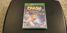 Crash Bandicoot 4: It's About Time Xbox One / Series X Brand New Sealed
