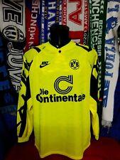 Maglia Calcio Borussia Dortmund Home 1991/92 Size XL Nike Germany Jersey Rare