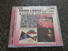 John Lewis & the Modern Jazz Quartet - Four Classic Albums Second Set 2 x CD