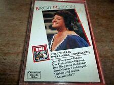 1989 CASSETTE -BIRGIT NILSSON-OPERA ARIAS-EG7631084-AS NEW