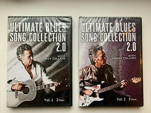 Ultimate Blues Song Collection 2.0 Jimmy Dillon 2 Volume Set 4 DVDs Sealed