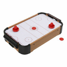 TABLETOP AIR HOCKEY Table 20x12 Inches Paddles Pucks Battery Office Holiday Time