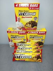 16 Fit Crunch Chocolate Peanut Butter Bars (12)SNACK (4)MEAL Robert Irvine R2P1