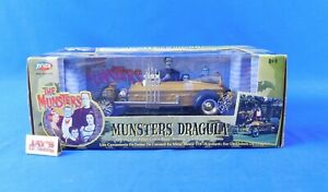 Munsters Dragula 1:18 Scale Die-Cast The Munsters 2004 Joy Ride New in Box