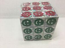 Rubik Cube Glitter by Greenbrier International 3D Puzzle New