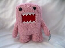 """Licensed Japanese Domo-Kun 6""""-6 1/4"""" Soft Pink Plush Doll-Brand New with Tags!!"""