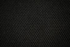 Black Military Lycra 3D Spacer Stretch Mesh 4mm Thick Fabric 51