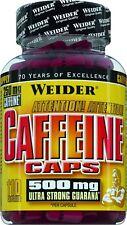 Weider Caffeine Caps Dose mit 110 Kapseln (17,01 EUR/100 g)