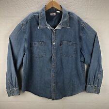 Levis Jeans Denim Vintage Shirt Jean Men XXL