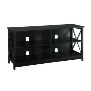 Convenience Concepts Oxford TV Stand, Black - 203055BL