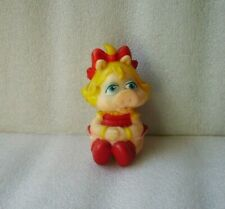 Vintage The Muppet Miss Piggy Rubber Toy Doll