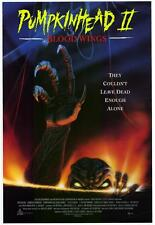 """PUMPKIN HEAD 2: BLOOD WINGS  Movie Poster [Licensed-NEW-USA] 27x40"""" Theater Size"""